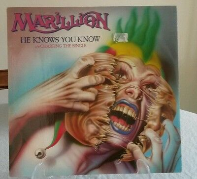 "Marillion He Knows You Know 12"" Single Prog Rock"