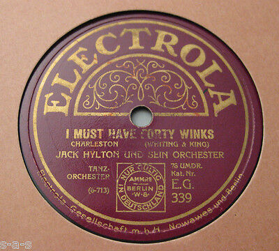 Nice Price: Jack Hylton - I Must Have Forty Winks / Because I Love You (284)