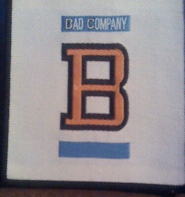 BAD COMPANY sew-on PATCH Fame and Fortune rock band album art woven VINTAGE