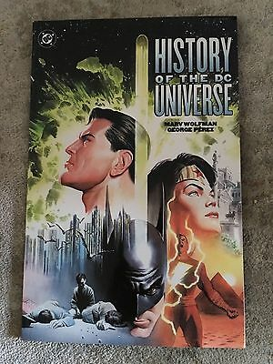 History of the DC Universe (2002 Printing)