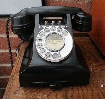 Gpo 300 Series Call Exchange Bell On / Off Telephone Working