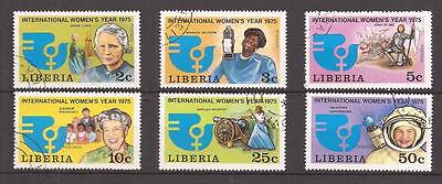 Liberia  -  Complet Set  -  International Women's Year