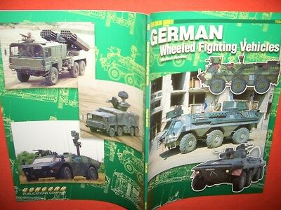 Concord Mini Color 7504, German Wheeled Fighting VEHICLES