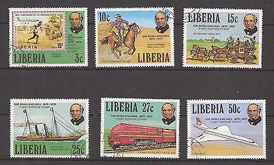 Liberia  -  Complet Set  -  Sir Rowland Hill