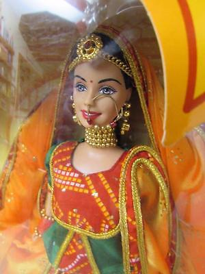 STUNNING Vtg 2002 BARBIE Expressions of India ROOPVATI RAJASTHANI New in Box