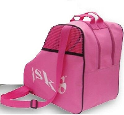 ISK8 ice skate -roller skate bag in pink or black