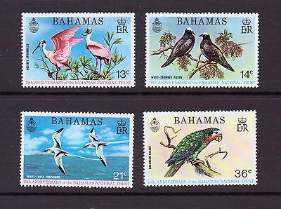 Bahamas 1974 Anniversary of National Trust set sg 429-32 unmounted mint