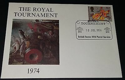 GB special handstamp cover - Royal Tournament 1974 British Forces Postal Service