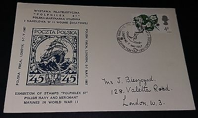 GB special handstamp cover.'Polphilex 67' - 7 May 1967