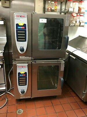 (2) Two Rational Combi Ovens Excellent Condition! SAVE THOUSANDS! MODEL SCC 61