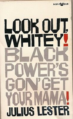 LOOK OUT, WHITEY! BLACK POWER'S GON' GET YOUR MAMA! 1969 Black Cat Paperback NEW