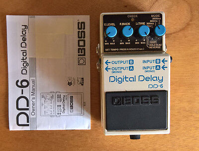 Boss DD-6 Digital Delay Guitar Effect Pedal