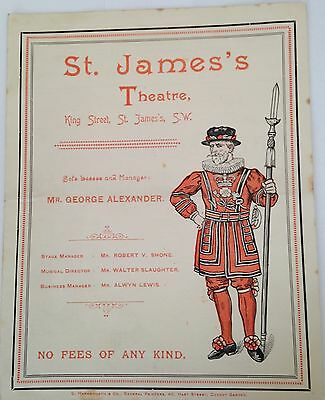 1893:   St James's Theatre.  The Second Mrs. Tanqueray.