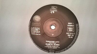 Guns N Roses: Paradise City 45 In Excellent Condition