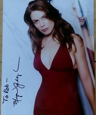 MEGAN GALLAGHER PERSONALLY SIGNED 10x8 COLOUR PHOTOGRAPH MILLENNIUM