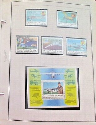 Lucky Lindbergh Postage Stamp Assortment of World Stamps, envelopes & s/s Mint