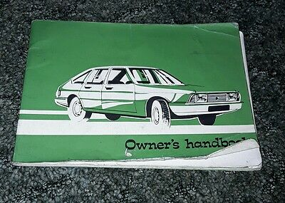 Chrysler owners hanbook