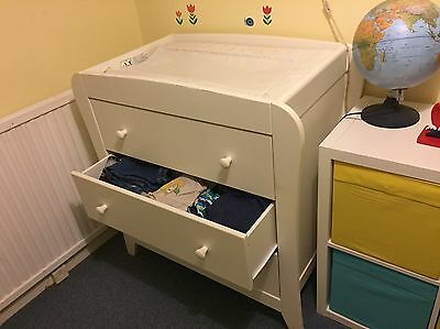 Mama And Papas Fern Dresser Baby Changer And Drawers