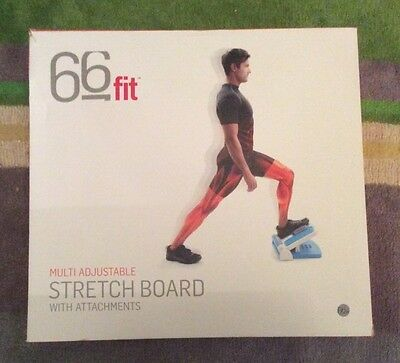 66 Fit Multi Adjustable Stretch Board With Attachments