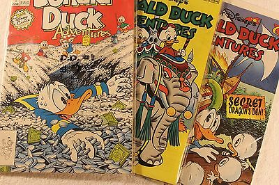 Lot Donald Duck Adventures Issue 1, 19, 34