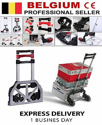 Diable pliable Facile à ranger/Hand truck Easy to store / Steekwagen