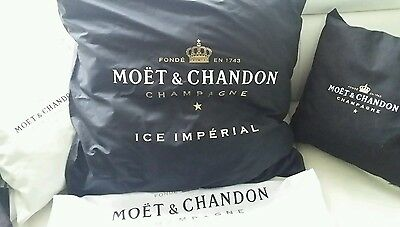 Moet Chandon Ice  Imperial Lounge Kissen 2 60x60 Party Vip  Champagner Ibiza Neu