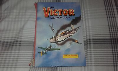 The Victor Book For Boys 1972 Annual. Vintage Hardback Comic.Rare