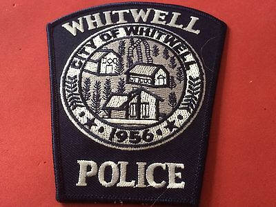 Whitwell Tennessee Police Patch