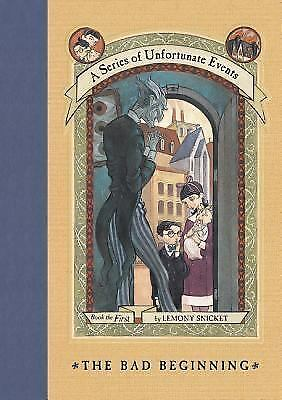 A Series of Unfortunate Events: The Bad Beginning 1 Lemony Snicket new hardcover