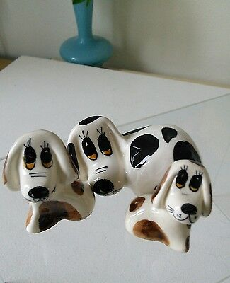 Philip Laureston Babbacomb Pottery Three Dogs