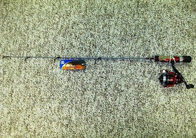 """No.8 Tackle Co. Infrared Ice Fishing Combo 30"""" Medium Heavy Walleye Lake Trout"""