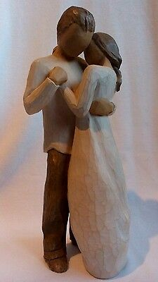 ~L@@K~ Willow Tree Figurine 'THE PROMISE' (Hold Dear The Promise Of Love)