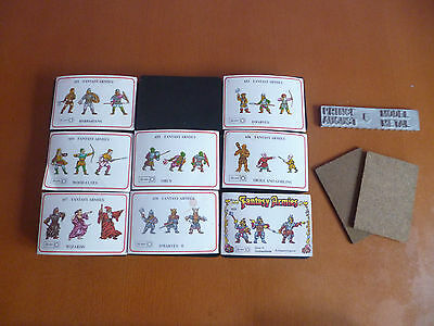 Nine Prince August 25mm Fantasy Armies Moulds with Model Metal and Mats