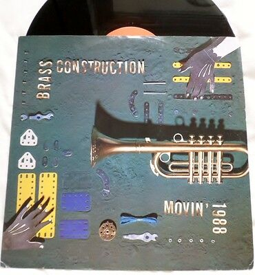 Brass Construction-Movin-1988-Ex+//reissue Of The 1975 Original All Extenede
