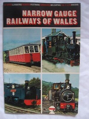 Narrow Gauge Railways of Wales. Colour Illustrated Booklet Published 1973.