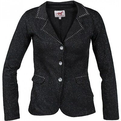 Horka Pirouette Competition Jacket Black  Sparkly Bling Show Jacket 164