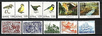 Norway - Small Collection # 9  - All Mnh