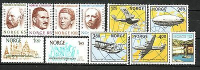 Norway - Small Collection # 3  - All Mnh