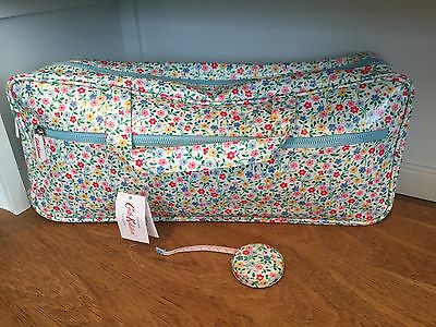 Cath Kidston Trailing Daisy Knitting bag & Tape Measure New Sewing Craft Storage