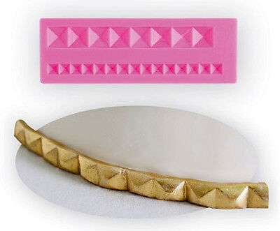 NY Cake Silicone Mould - Pyramid Studs