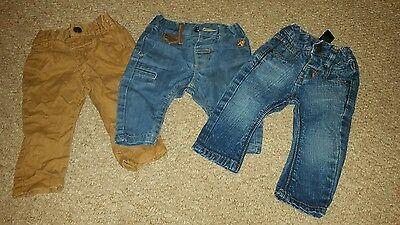 next baby boys 3-6 months jeans chinos