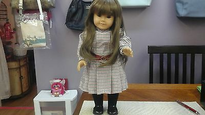 American Girl Pleasant Company White Body Samantha Beautiful Soft Lashes