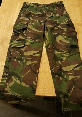 boys age 7-8yrs camouflage army combat trousers