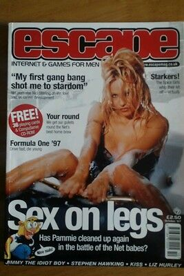 Pamela Anderson Magazine Immaculate Escape October 1997