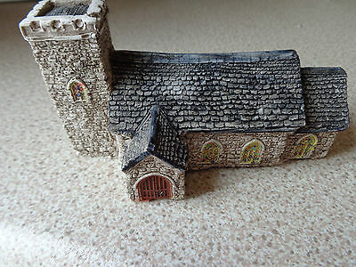 n gauge village church scenery buildings accessories for trains