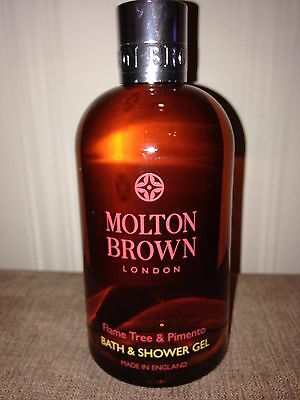 NEW MOLTON BROWN Flame Tree & Pimento Bath & Shower Gel 300ml