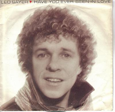 """Eurovision 1981 UK Final Have You Ever Been In Love Leo Sayer cover version 7"""""""