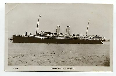 ---OQ64 shipping ORSOVA orient line OFFICIAL 1924---