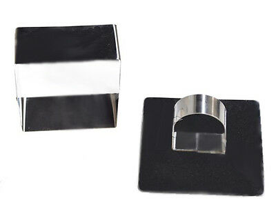 """NY Cake Food Mould - Square - 3-1/8"""" - w/Pusher"""