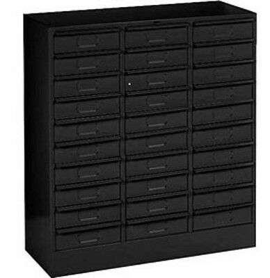 NEW IN A BOX 30 drawers metal cabinet black